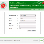 Dakhil Result 2020- Madrasah Education Board Result