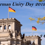 German Unity Day  -3 October German Unity Day 2020