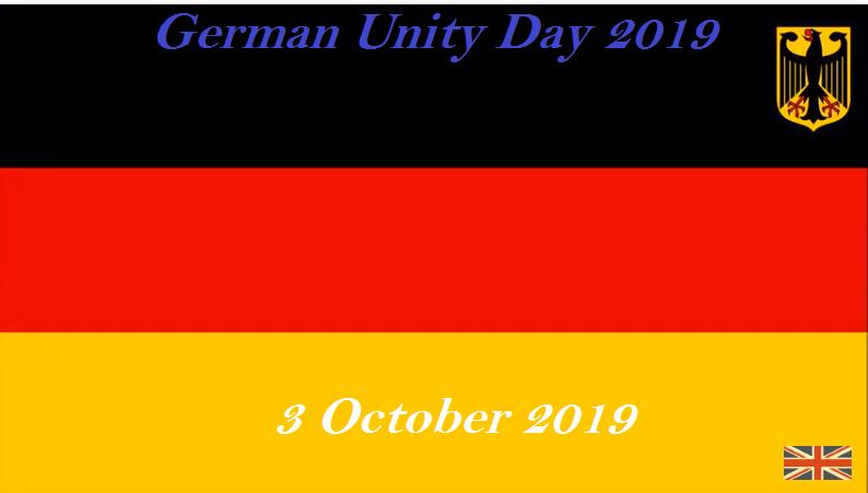 German Unity Day 2019