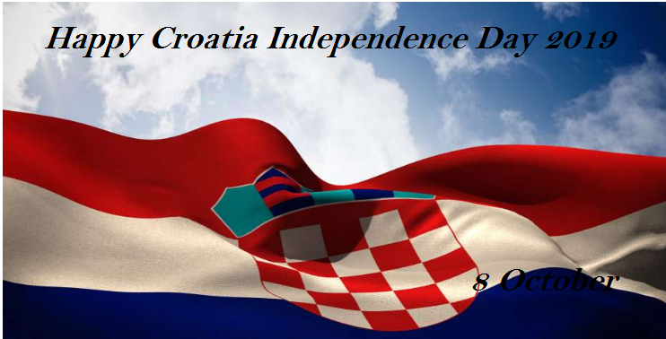 Croatian Independence Day -8 October, 2019
