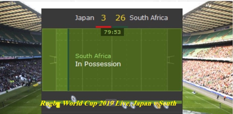 Rugby World Cup 2019 Live, Japan v South Africa - Daily Event News
