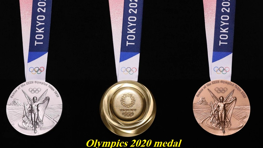 Olympics 2020 medal