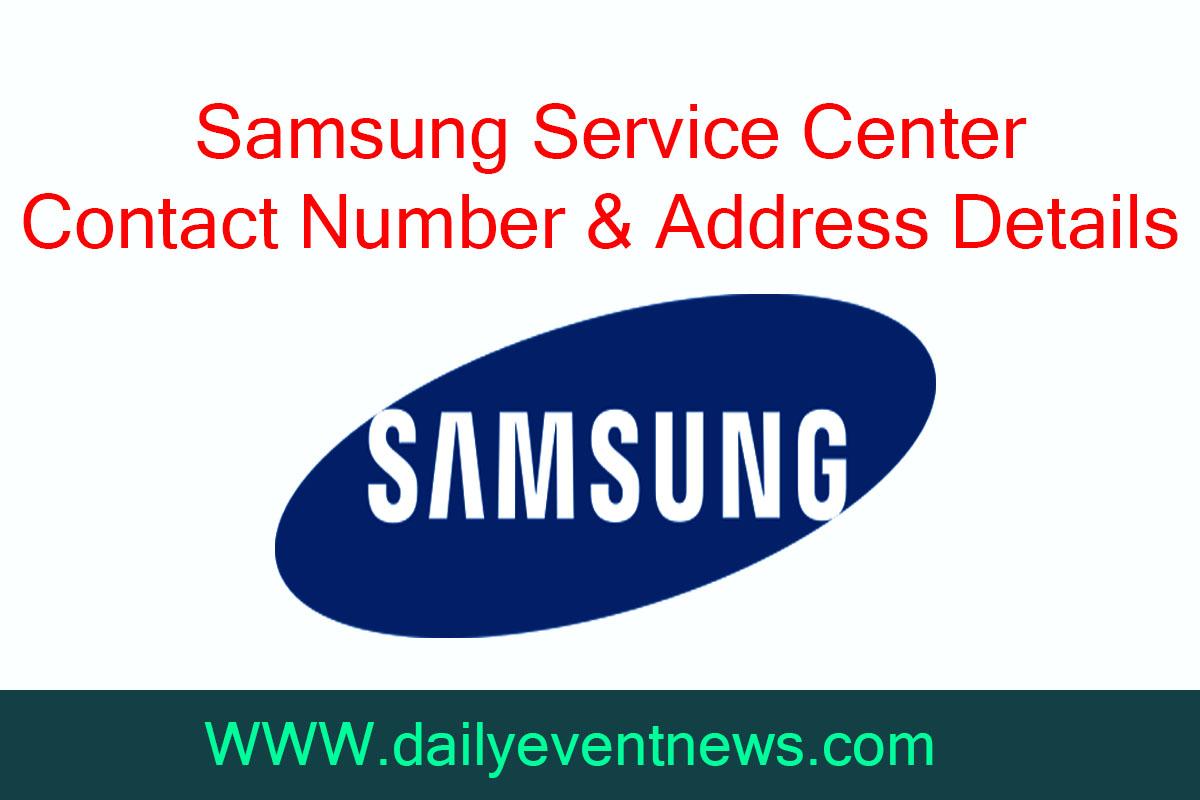 Samsung Service Center Number & Address