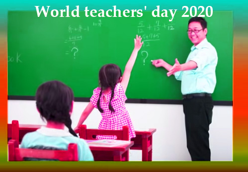 World teachers' day 2020-Image, photos, picture, Message, Time, Date, quotes.