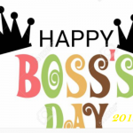 National Boss day 2019-16th October 2019,