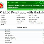 JSC Result 2020 With Marksheet