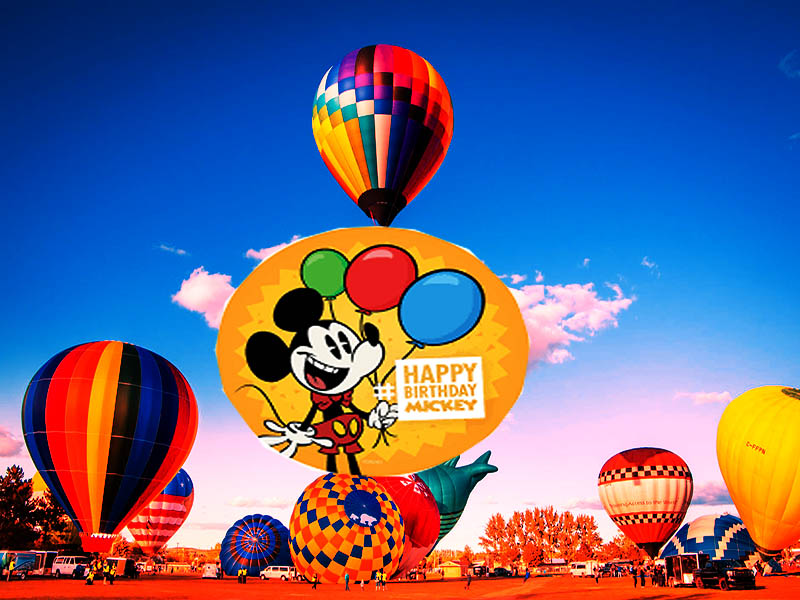 November Mickey Mouse's Birthday 2020