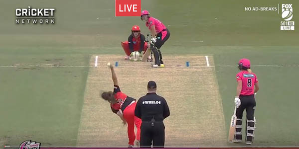 Live: Sydney Sixers Women vs Melbourne Renegades Women live women's Big Bash League 2019