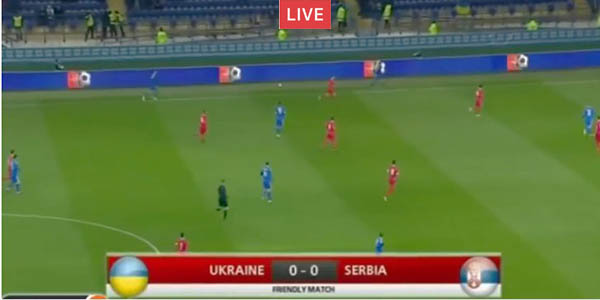 Live: Ukraine vs Serbia live streaming, Tv Chanel, link.