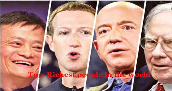 Top richest people in the world