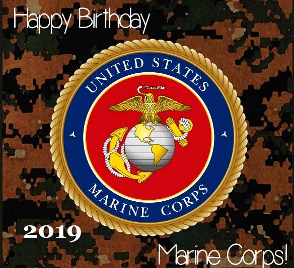 Happy Marine Corps Birthday 2020