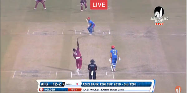 Live: Afghanistan vs West Indies, 3rd T20I – Live