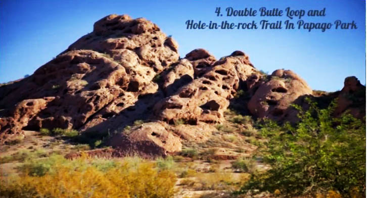 double butte loop and hole in the rock trail in Papago Park