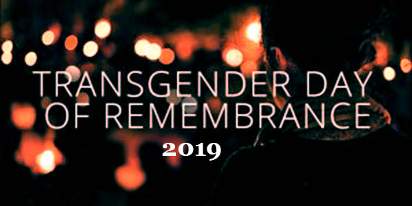 Transgender Day of Remembrance 2020