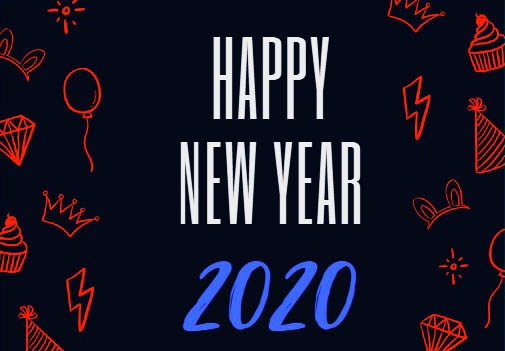 Happy New Year 2020 Images, Pictures, Photos, Pic, Wallpaper