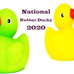 National Rubber Ducky Day 2020 (January 13)