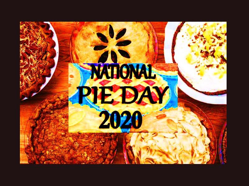 Pie day - Happy National pie day (23 Januray).