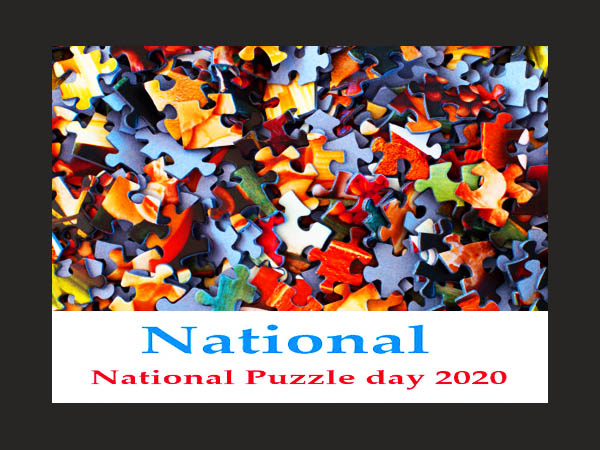 Puzzle day - January 29 National Puzzle Day 2020.
