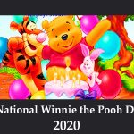National Winnie the Pooh Day – (January 18) National Winnie the Pooh Day 2020