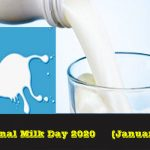 Milk Day-National Milk Day 2020 (11th January) in the United States