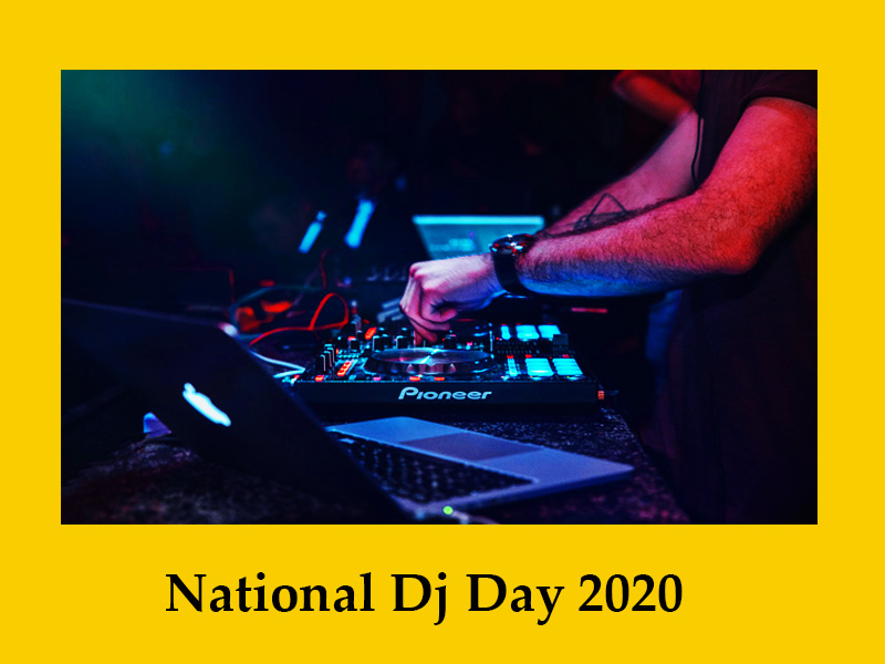 National DJ Day 2020