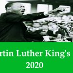 Martin Luther King's Day- (20th January) Martin Luther King's day 2020