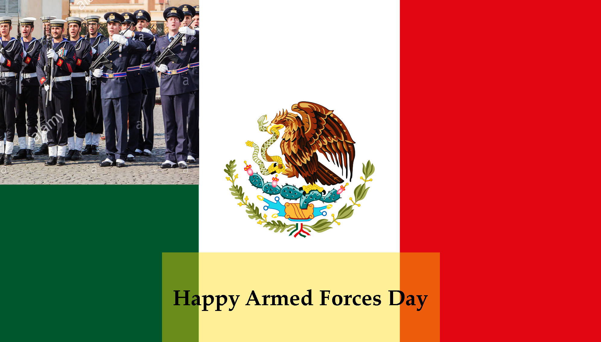 Armed Forces Day – 19th February Happy Armed Forces Day 2020 in Mexico