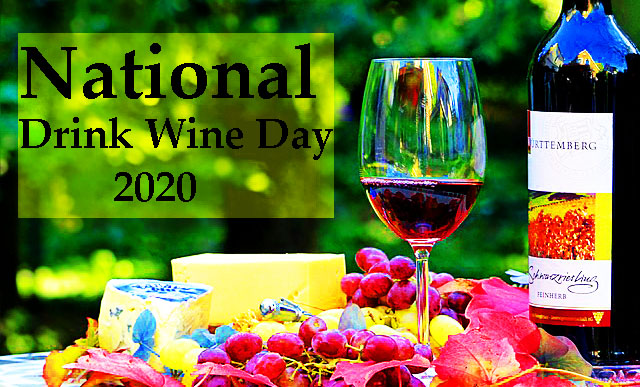 National Drink Wine Day - Happy National Drink Wine Day 2020.