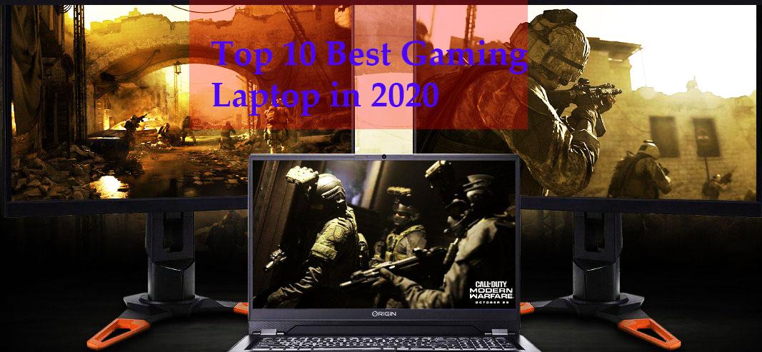 Top 10 Best Gaming Laptop in 2020