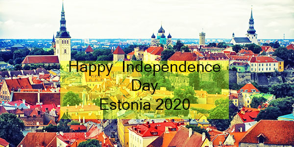 Estonia Independence Day- 24th February Happy  Independence Day Estonia 2020