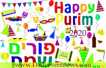Purim 2020 – Happy Purim  Wishes, Status, Quotes, Messages, Greetings SMS  2020!