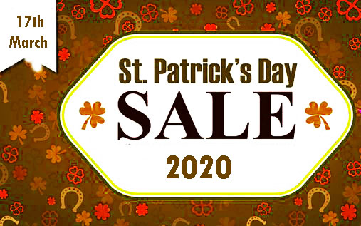 St Patrick's Day – 17th March Happy St Patrick's Day 2020