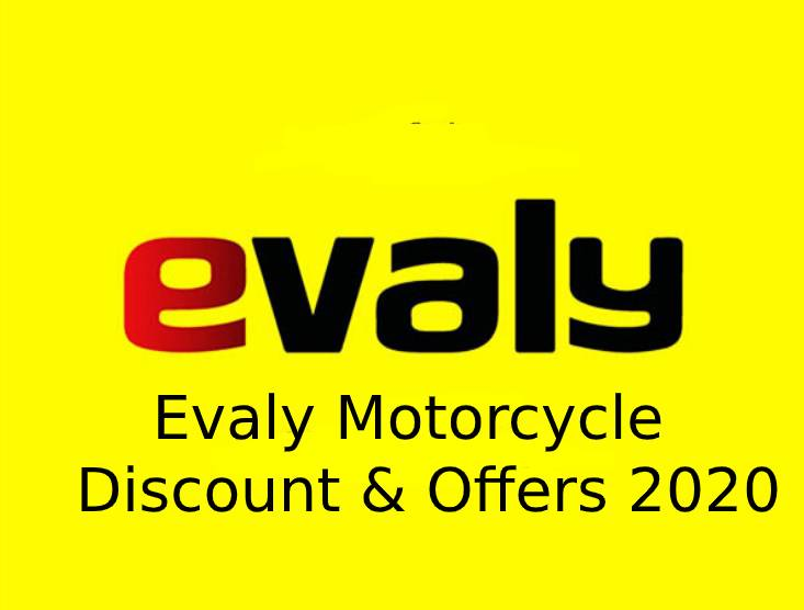 Evaly Motorcycle Discount & Offers 2020