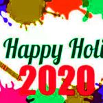 Happy Holi 2020 images, Picture, Pic, Photo, Wallpaper HD 2020.