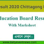 SSC Result 2021 Chittagong Board With Marksheet