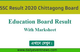 SSC Result 2020 Chittagong Board With Marksheet