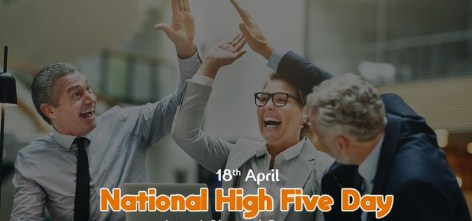 National High Five Day 2020