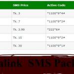 Banglalink SMS Pack 2020- Banglalink 500 SMS 5 Taka