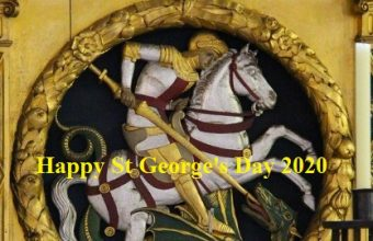 St George's Day– 23rd April Happy St George's Day 2021