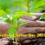 Arbor Day – 24th April National Arbor Day 2020