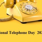 Telephone Day – National Telephone Day 2020 (25th April)