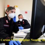Corona Virus Helpline Number Italy – COVID-19  Helpline Number, Address & Email