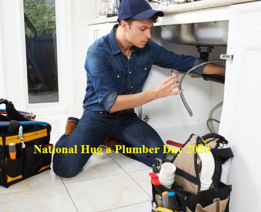 National Hug a Plumber Day 2020