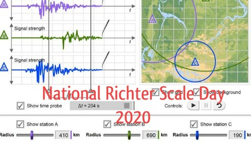 National Richter Scale Day 2020