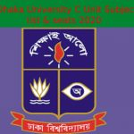 Dhaka University C Unit Subject list & seats 2020