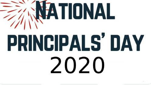 National  School Principal Day 2020