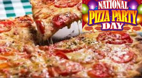 National Pizza Party Day 2020