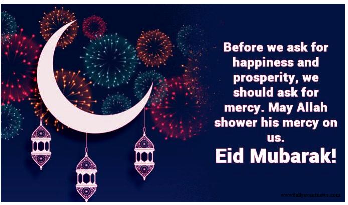 Advance Eid Mubarak Wishes Images