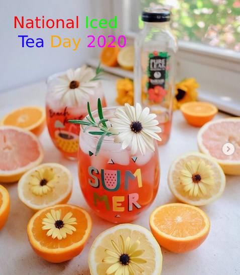 National Iced Tea Day 2020