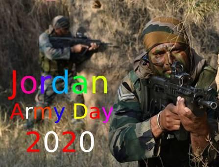 Jordan Army Day 2020